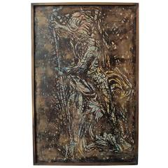 "Wall Plaque ""Poseidon"" by Philip & Kelvin Laverne"