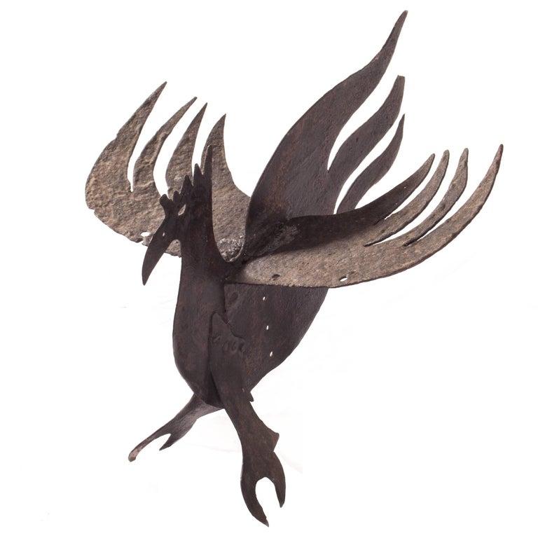 Primitive Antique Iron Dragon