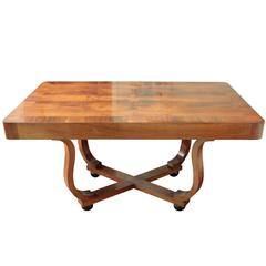 French Art Deco Period Rectangular Dining Table