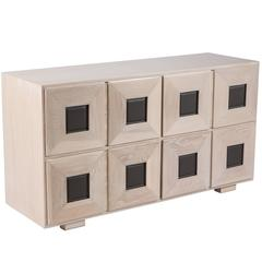 Chic Cerused Oak Chest of Drawers by Karpen of California