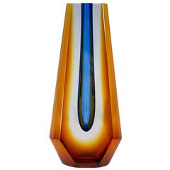 Pavel Hlava Sculptural Glass Vase