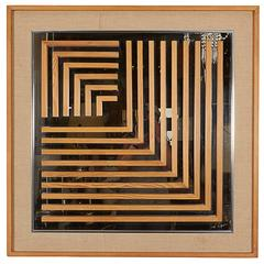 Don Alguire Op Art Mirror for Greg Copeland
