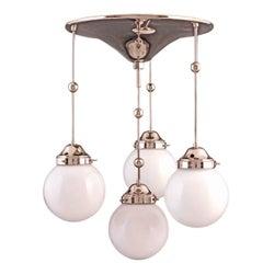 Koloman Moser, Josef Hoffmann/Wiener Werkstätte Jugendstil Ceiling Lamp Re-edit