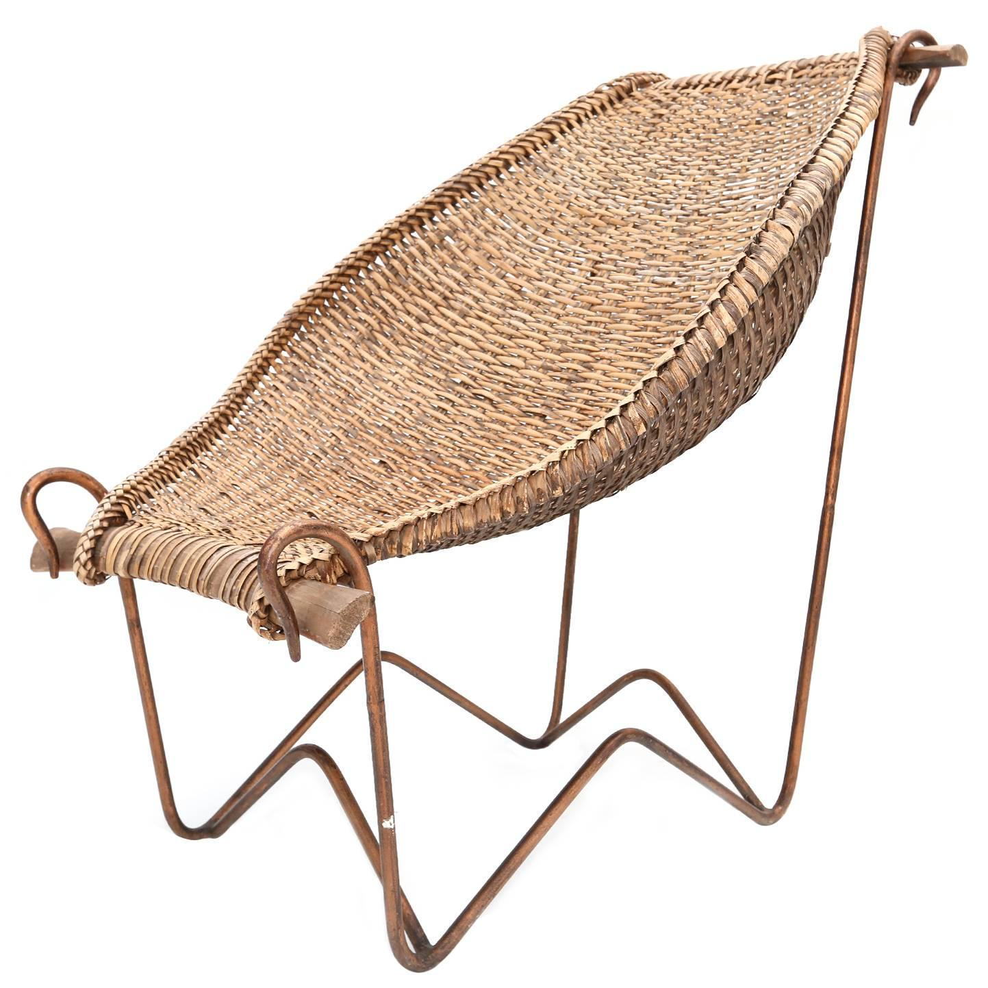 Duyan Wicker Chair For Sale at 1stdibs