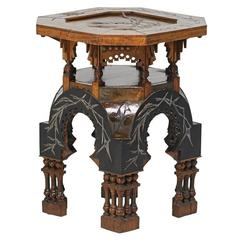 Rare Side Table by Carlo Bugatti
