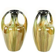 Very Chic English Mid-Century Urns of Great Scale and Proportions