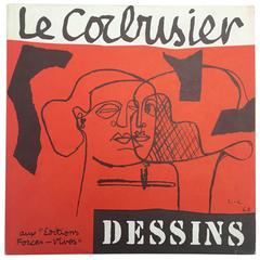 Le Corbusier-Suite De Dessins - 1968