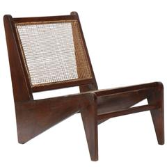 """Rare and Exceptional Low Seat Called """"Kangaroo"""" Pierre Jeanneret"""