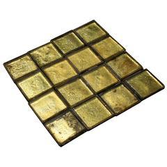 1920s Art Deco Gold Coloured Floor / Wall Tiles