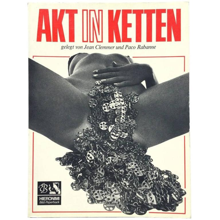 Akt in Ketten Jean Clemmer and Paco Rabanne For Sale