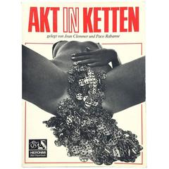 Akt in Ketten Jean Clemmer and Paco Rabanne
