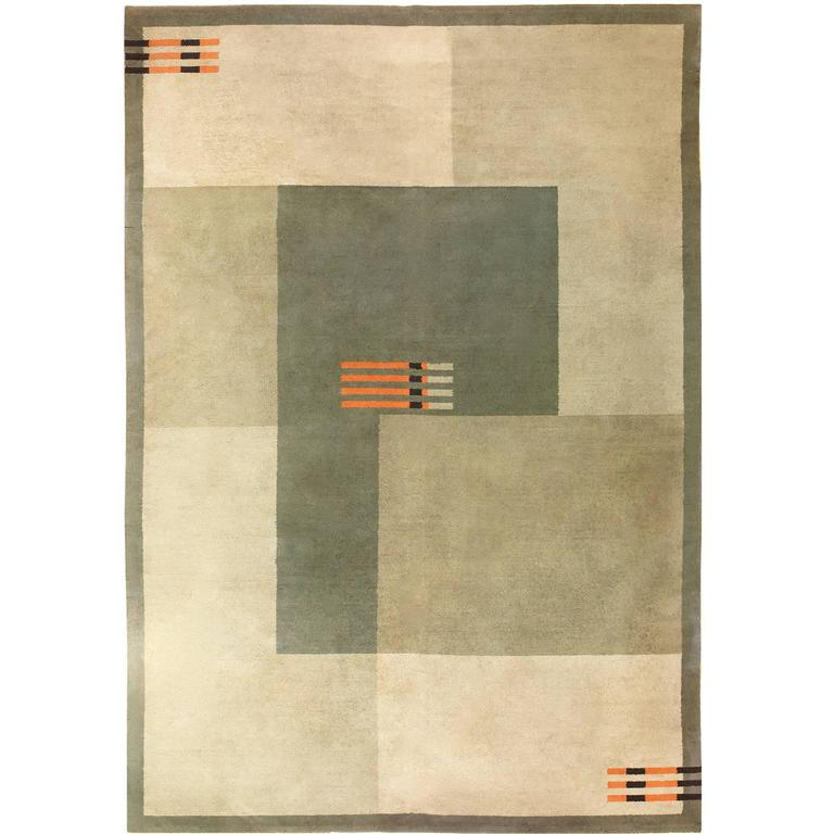 Antique Art Deco Carpet For Sale At 1stdibs