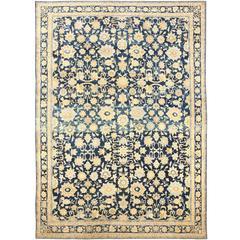 Large Breathtaking Antique Kerman Persian Rug