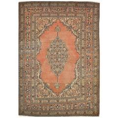 Antique Small Persian Tabriz Rug