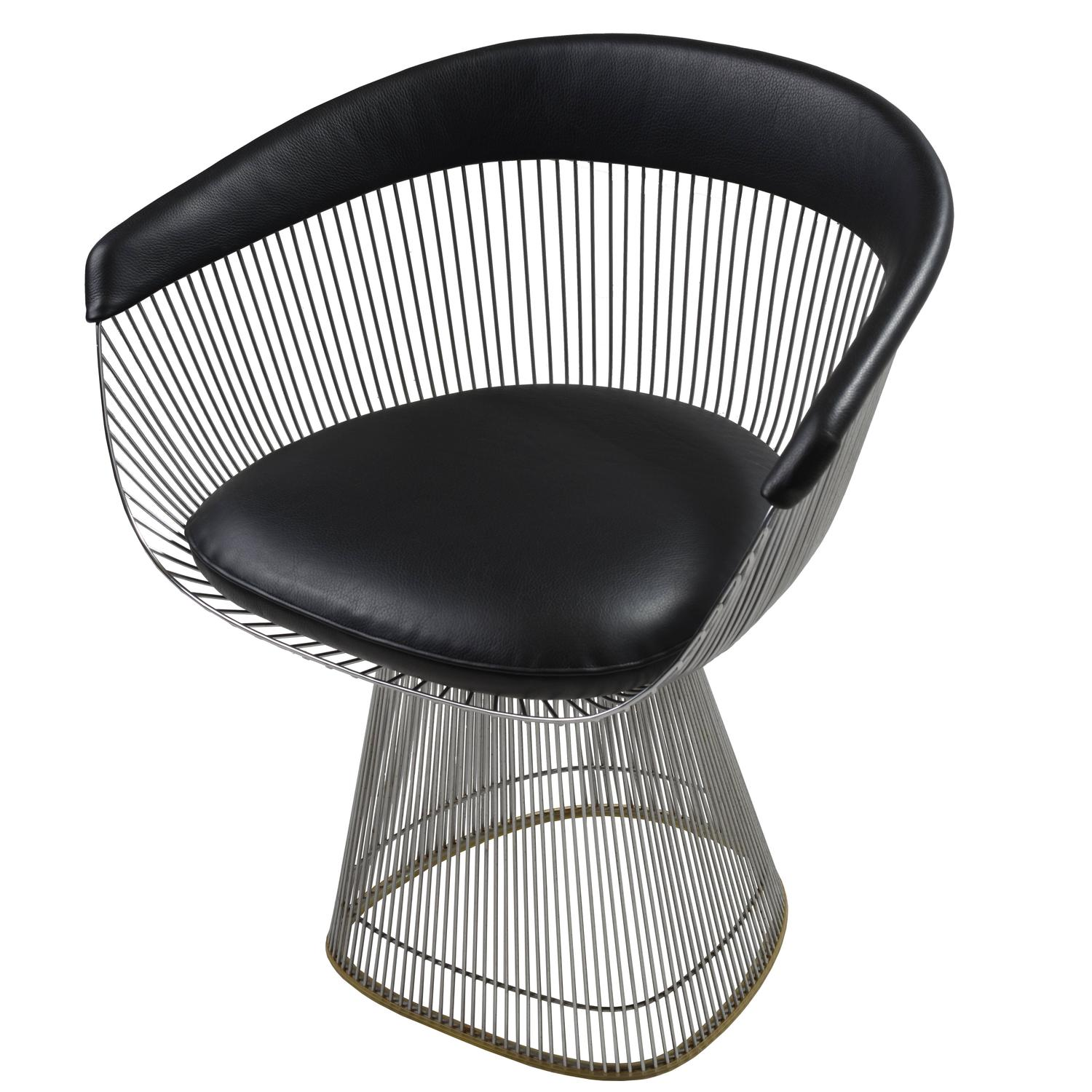 Platner Chair warren platner model 1725a armchair at 1stdibs