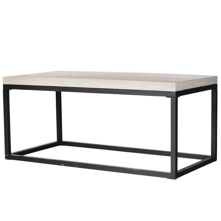 Concrete Resin Coffee Table
