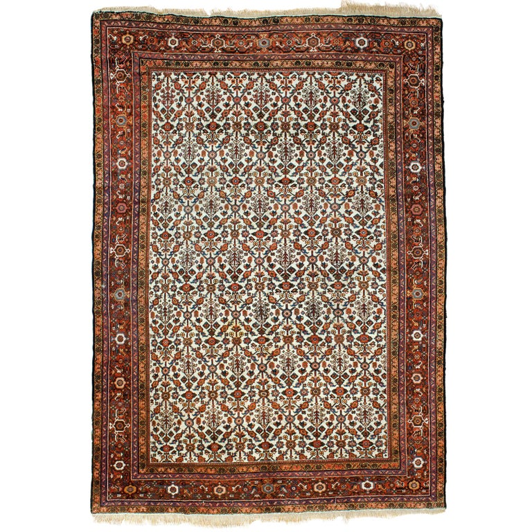Antique Mahal Rug For Sale At 1stdibs