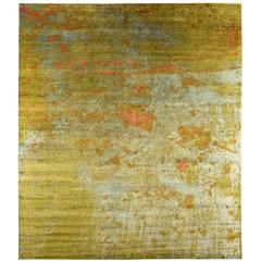 Contemporary Abstract 'Suzu' Rug
