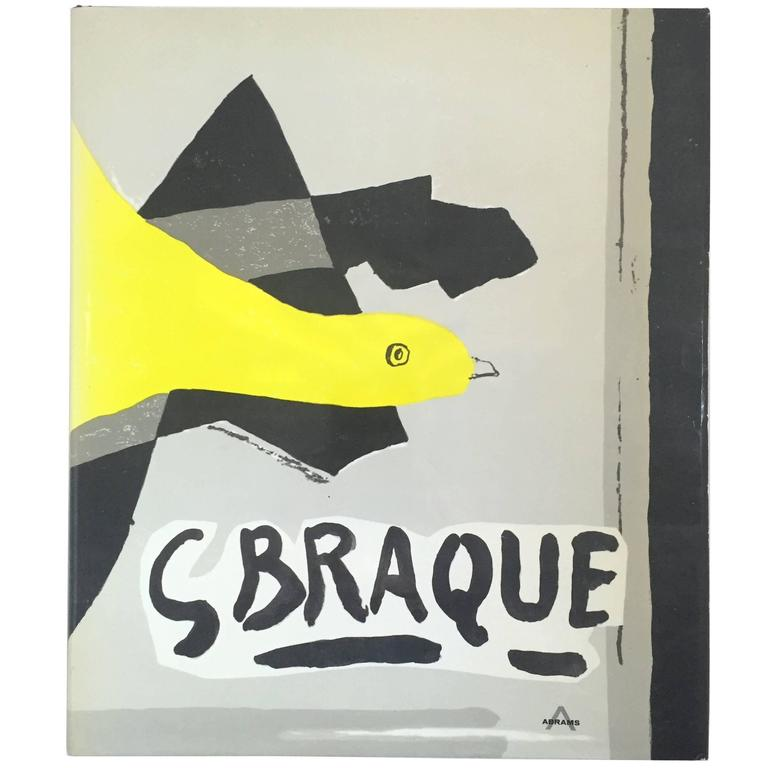 """Georges Braque: His Graphic Work"" Book by Werner Hofmann - 1961"