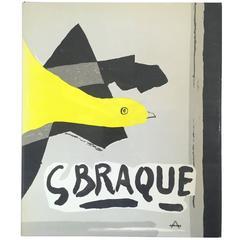 """Georges Braque: His Graphic Work"" Book by Werner Hofmann - 1961"