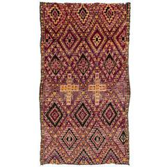 Early 20th Century Beni Mguild Moroccan Rug