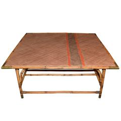 Harbinger David Rattan Coffee Table