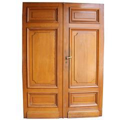 Pair of French Oak Double Doors