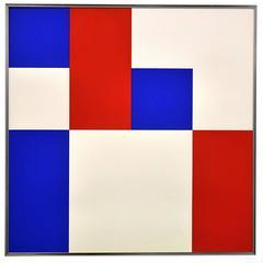 """Squares"" Lithograph by Bob Bonies"