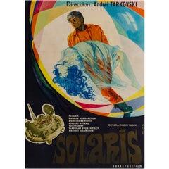 Solaris Original Russian Film Poster, Houapec, 1977