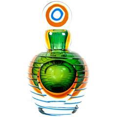 Vintage Murano Glass Perfume Bottle