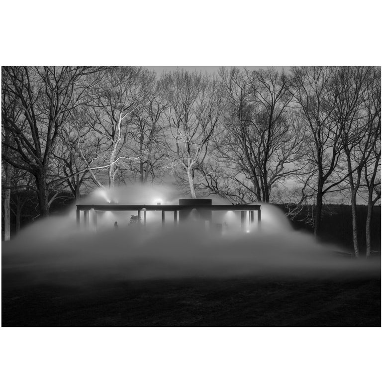 Glass House, Veil, 2014 Photograph by Richard Barnes For Sale