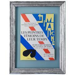 Vintage Henri Matisse Poster