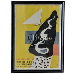 Vintage Georges Braque Poster