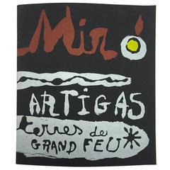 """""""Miró & Artigas – Terres De Grand Feu"""" Catalogue - 1956"""