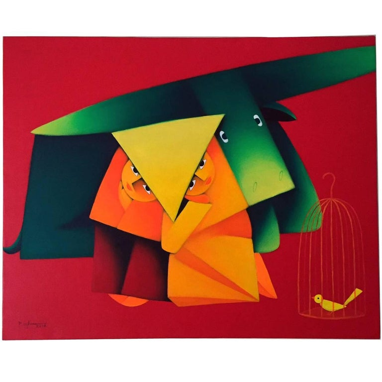Modernist Painting by Duc Nghia Phan