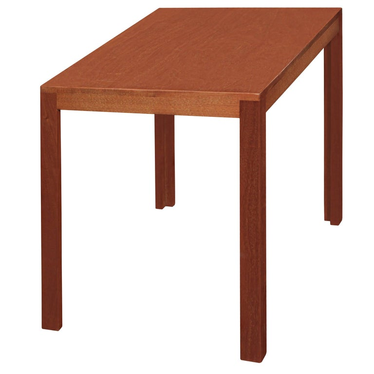 Clean-Line End Table in Teak by Edward Wormley For Sale