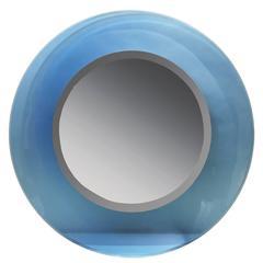 Blue Fontana Arte Mirror