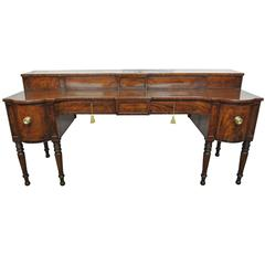 Impressive Early 19th Century Mahogany Sideboard