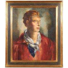 """""""Le Nordique"""" Portrait of Young Man"""