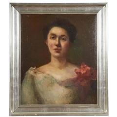 Portrait of a Woman with Corsage