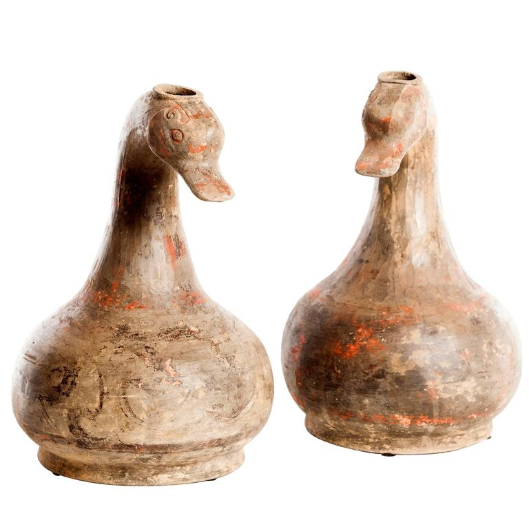 Pair of Han Duck Vessels For Sale