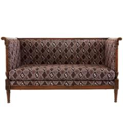 Antique Batik Settee