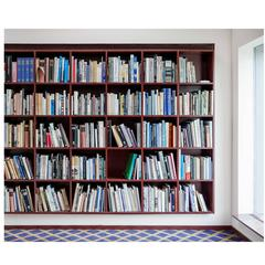 Philip Johnson Library New Canaan photograph by Candida Höfer