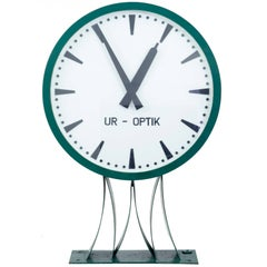 Rare Large Westerstrands Swedish Installation Wall Clock