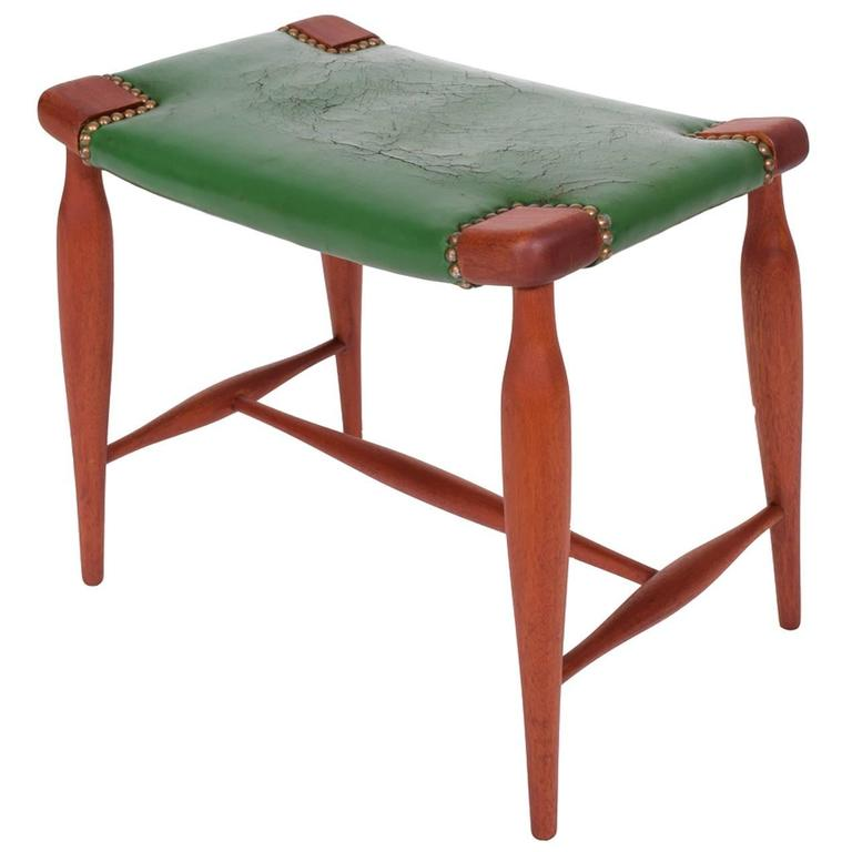 Occasional Stool Model 967 by Josef Frank for Svenskt Tenn 1