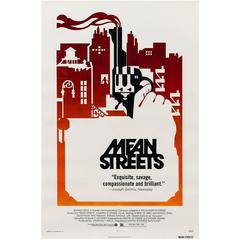 Mean Streets Original American Film Poster, 1973