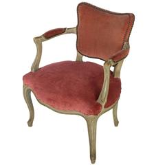 Early 20th Century Louis XV Style Armchair