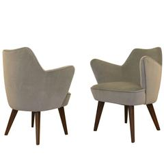 Gio Ponti for Cassina Armchairs with Expertise from the Archives
