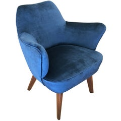 Gio Ponti for Cassina Armchair with Expertise from the Archives