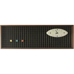 Vintage Peter Pepper Matrix Clock, California, 1958